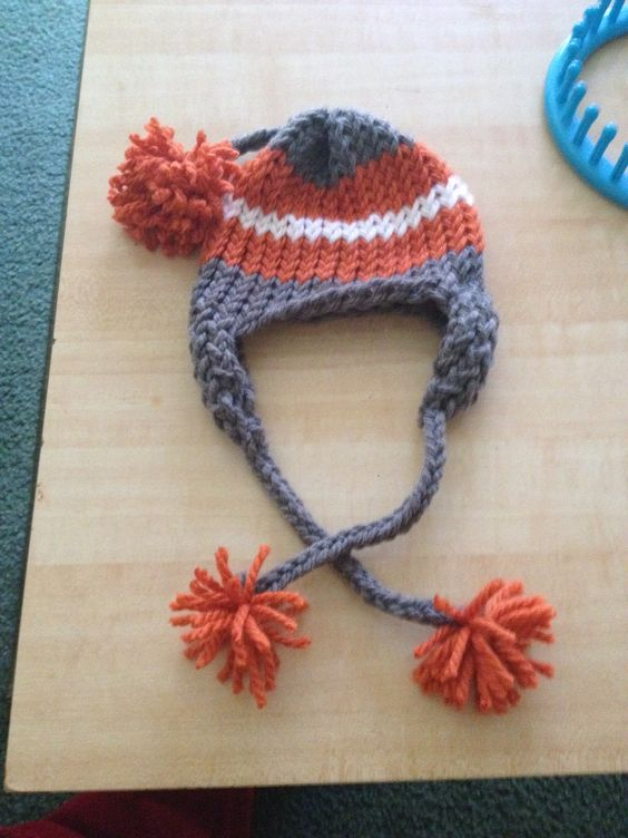 Loom Knit Baby Hat With Brim : Pinterest the world s catalog of ideas