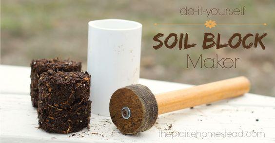 Diy soil block maker diy and crafts for Soil block maker