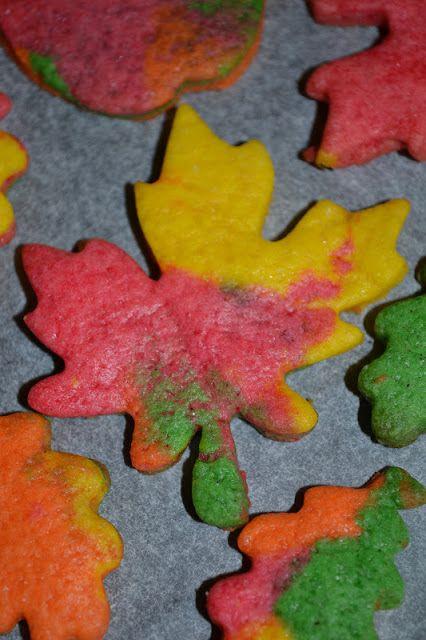 7 Tage die Woche...: Herbstliche Kekse