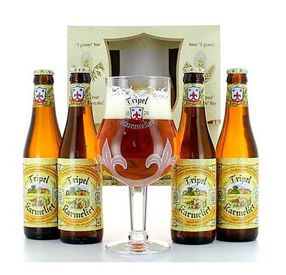 Bia Karmeliet Triple 8,4% - Chai 330ml - Bia Nhập Khẩu