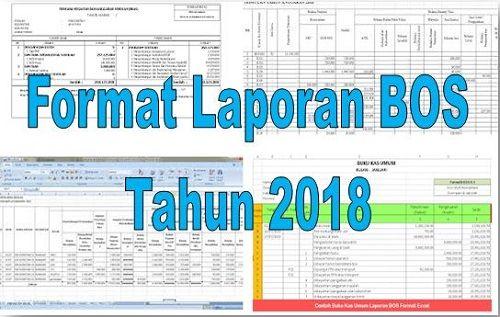 Format Laporan Bos Tahun 2018 File Administrasi Guru Net