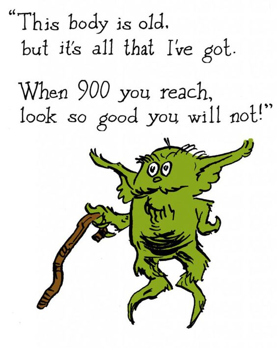 If Dr. Suess wrote star wars...