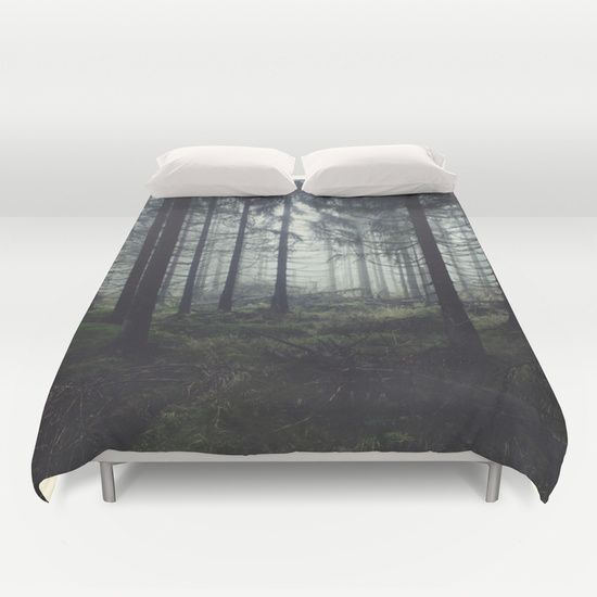 Buy ultra soft microfiber Duvet Covers featuring Through The Trees by Tordis Kayma. Hand sewn and meticulously crafted, these lightweight Duvet Cover vividly feature your favorite designs with a soft white reverse side.