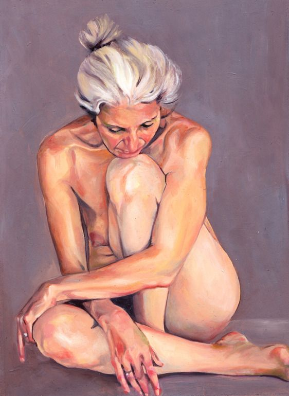 """Beautiful is the title of this painting by Alexandra Gallagher. It's   nice to see a woman of a little more maturity depicted so nicely.   Alexandra Gallagher; Oil, 2011, Painting """"Beautiful""""."""