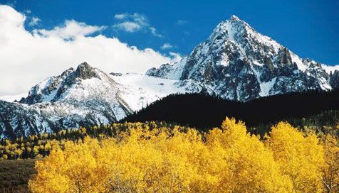 Rocky Mountains, Colorado. I love the Rockies in the summer but would love to see them during winter!