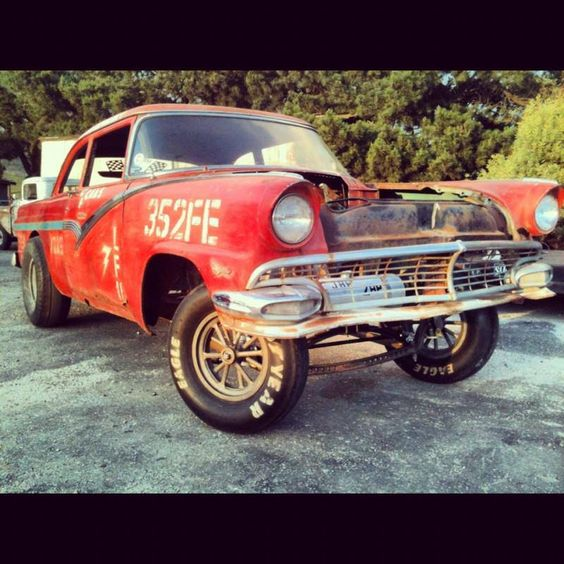 Ford Gasser Sans Engine