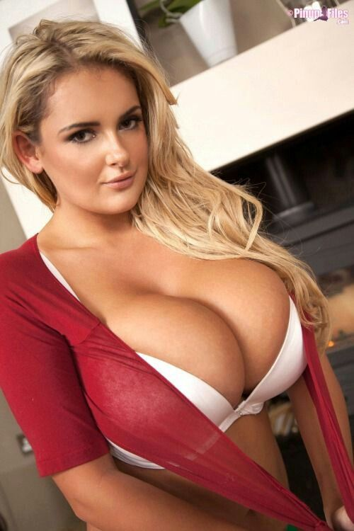 Girl with big tits running