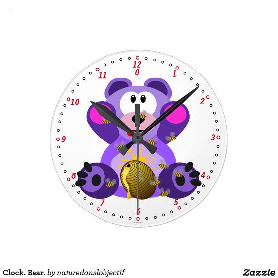 Clock. Bear.