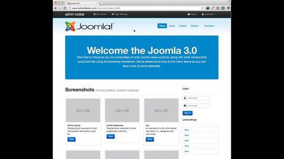 Nuevo concepto de edición desde el frontend para Joomla 3.0