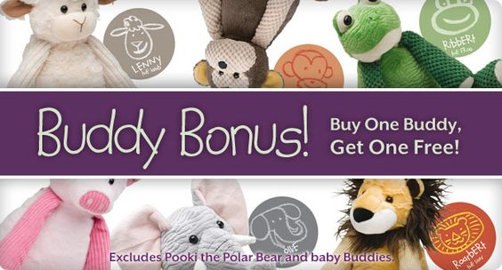 Buddy Holiday!!! Buy One Get one FREE now! with the purchase of one buddy you get another one FREE!! (both buddies come with a scent Pack)