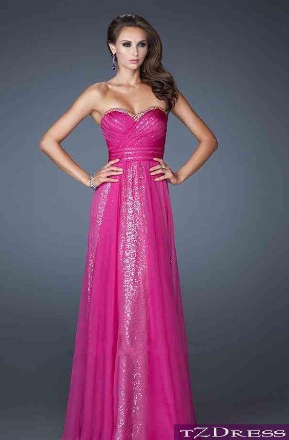 Fuchsia prom dress Fuchsia prom dress | Prom dresses | Pinterest ...