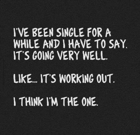 I think I'm the one.