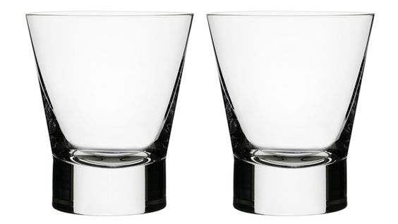 iittala Old-Fashioned Drinking Glasses - Set of 2 from Dwell Modern Collection on OpenSky