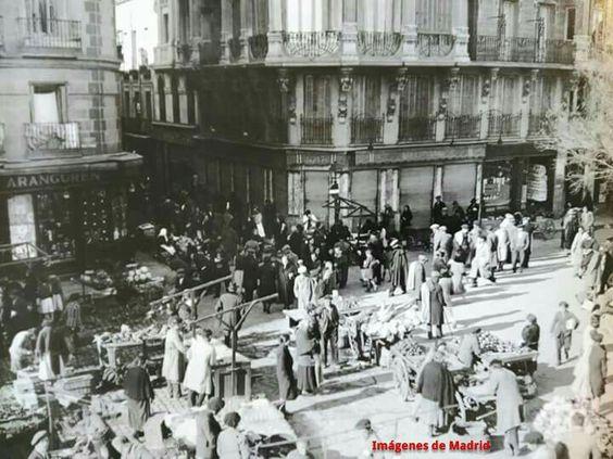 Año 1934 Plaza Nicolás Salmerón foto Díaz Casariego