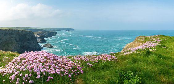 lovely cornish coast view