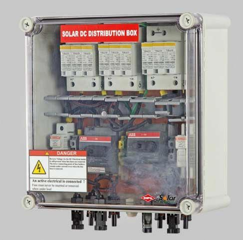 Hpl India Is One Of The Best Manufacturers Of Mcb Distribution Box We Provide Acdb And Dcdb Solar Panel Distribution Box So In 2020 Solar Panels Solar Heating Solar