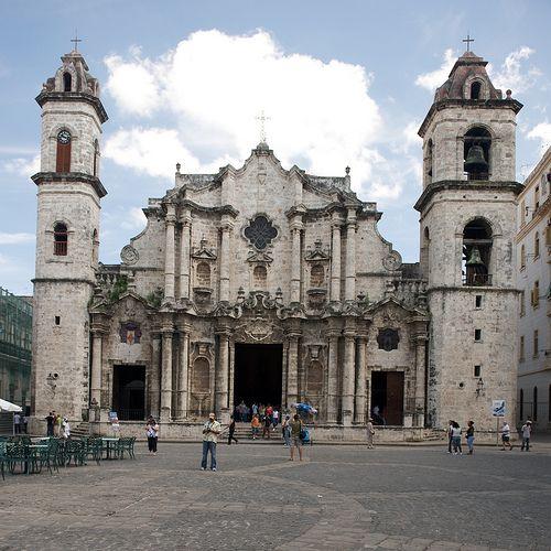 L' Havana: Plaza de la Catedral.