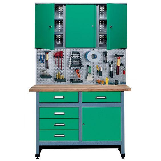 KUEPPER Spar-Set: 399,- Werkstattmöbel, Breite 120 cm (3-tlg.) kaufen im Werkbänke Shop von hagebau.de