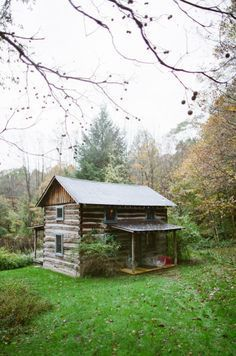 Two porch cabin