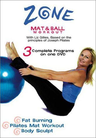 Precision Series Zone Pilates Mat & Ball Workout