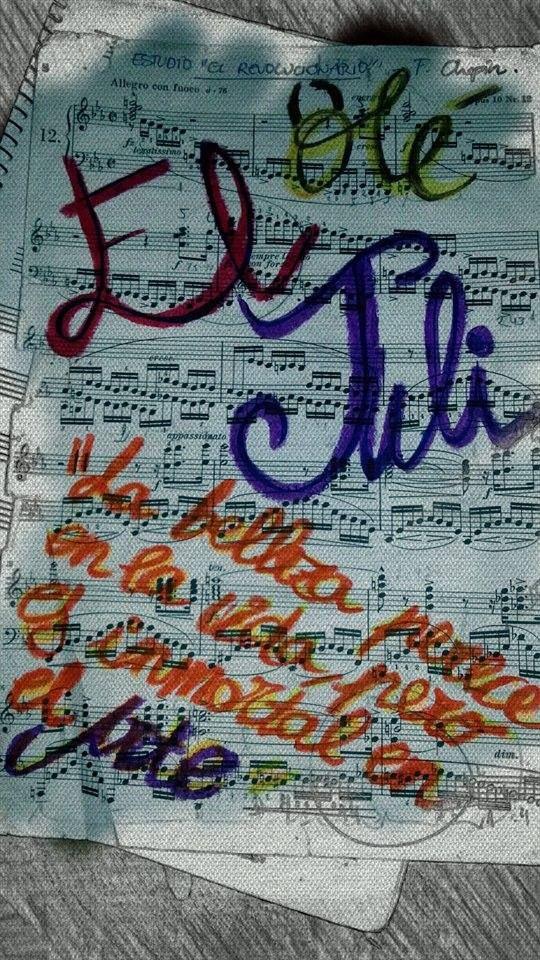 Desde el corazón de una pianista que adora su toreo @eljulioficial