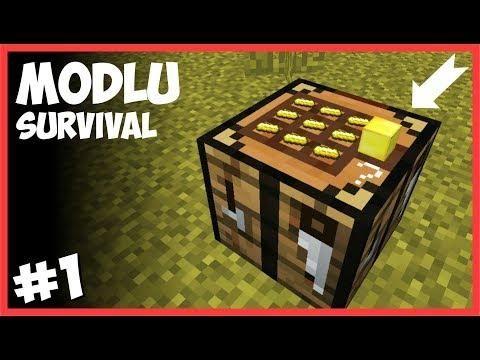 3 Boyutlu Crafti̇ng Masasi Minecraft Modlu Survival Minecraft Minecraft Mods Survival