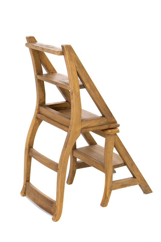 Stool Chair Library Ladder And Step Stools On Pinterest