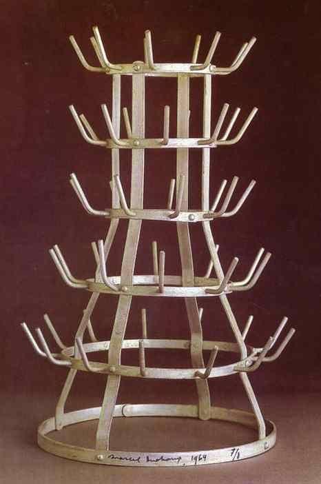 Marcel Duchamp - Bottle rack