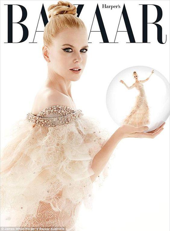 Nicole for Harpers Bazaar