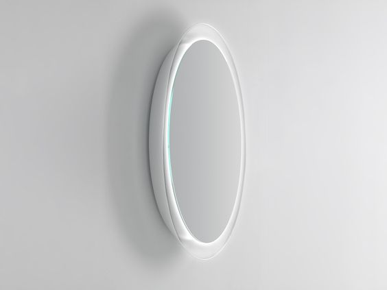 bowl wall-mounted mirror by inbani design arik levy | dressing ... - Specchio Free Standing Temira Sovet