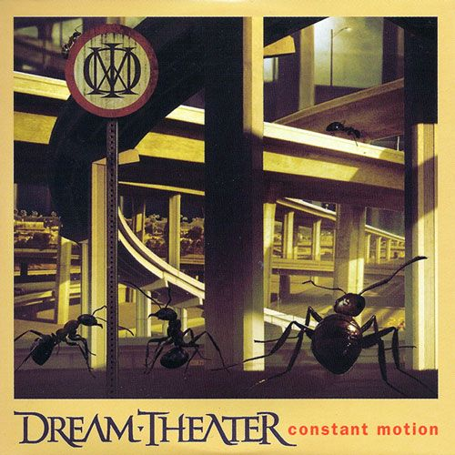 Dream Theater – Constant Motion (single cover art)