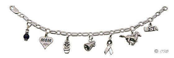 Charm bracelet for Mom
