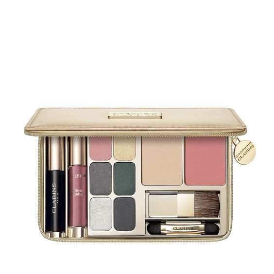 Набор для праздничного макияжа Palette de Maquillage by Chapurin - Clarins