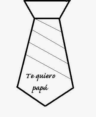Manualidades DIY: Regalos para el Día del padre Corbata para decorar  http://aprendiendoconjulia.com/2015/03/manualidades-diy-regalos-para-el-dia-del-padre/