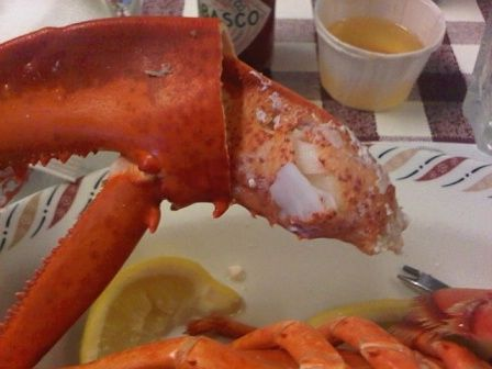 PEI - some more FANTASTIC PEI lobster!