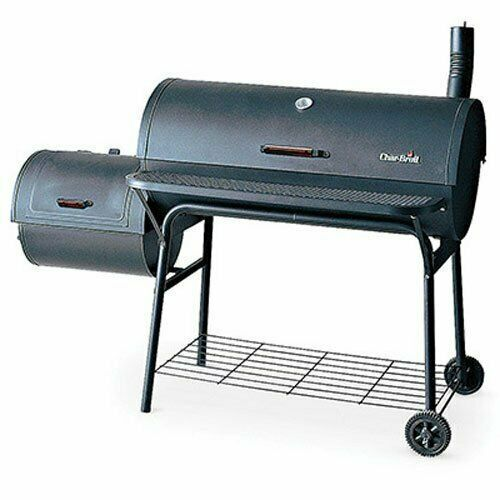 Large Outdoor Charcoal Smoker Grill Bbq Outdoor Cooking Deluxe Smoker Offset Smoker Grill Smoker Char Broil Grill