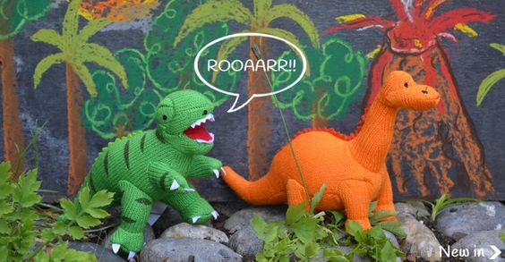 ethical toys-dinosaur rattles from www.yourssustainably.com