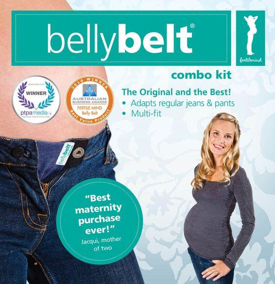 Belly Belt - anstelle teurer Umstandshosen...