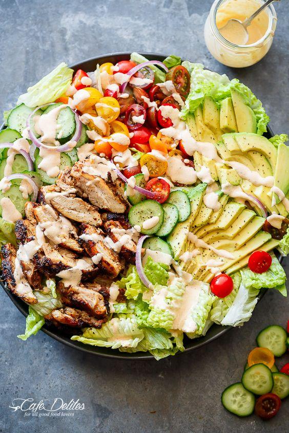 Cajun chicken salad, Chicken salads and Dressing on Pinterest