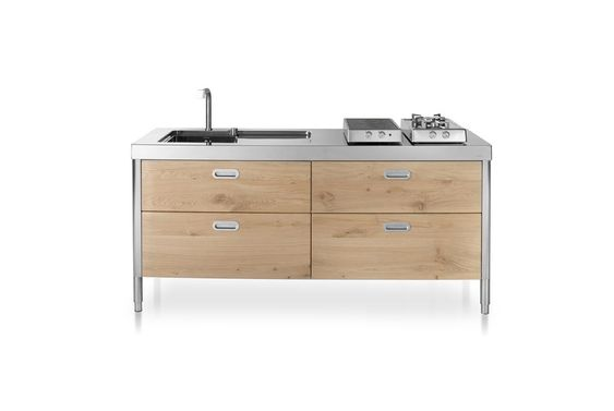 Cucine ikea freestanding : Cucina 190 [b] - Alpes Inox | Zona ...