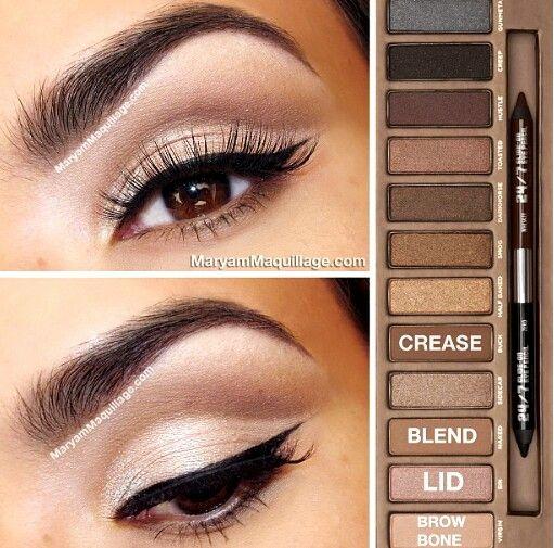 Maquillaje de ojos...