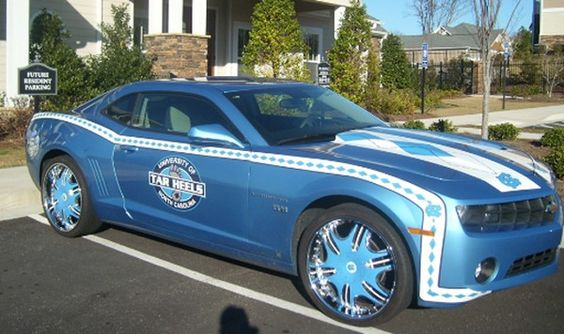 Wow!  Tar Heels Car. - Continued!