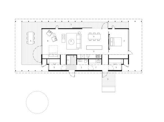 Gallery Of Springhill House Lovell Burton Architects 34 Architect Floor Plans Ground Floor Plan