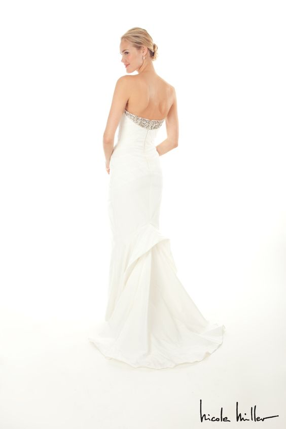 Nicole Miller Bridal Gowns And Clean Lines On Pinterest