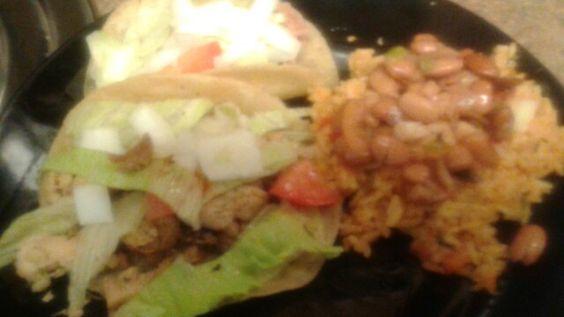 tacos und noch mehr huhn marinaden huhn tacos mexikaner bier tacos ...