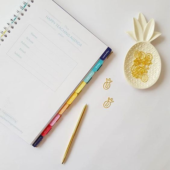 Die Innenseiten der HAPPY TEACHING AGENDA ist bei allen drei Versionen klar strukturiert, übersichtlich und einfarbig (im Gegensatz zu der farbigen Agenda des laufenden Schuljahres) - nur die Registertabs sind bei der Rainbow-Agenda mehrfarbig. 🌈 Aber das Wichtigste: Die Tabs sind für das kommende Jahr richtig stabil, weil wir endlich eine Firma in DE gefunden haben, die das machen kann. Ein Tag zum Feiern für uns! 🎉🎉 #happyteachingagenda #lehreragenda #lehrerkalender…