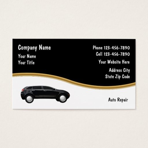 Auto Repair Business Cards Zazzle Com Auto Repair Repair
