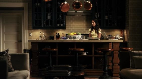 spencer hastings kitchen - color combos, subway tile color and grout
