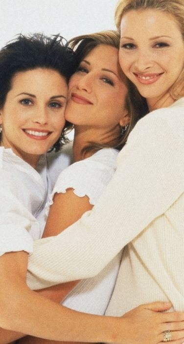You were Kudrow lisa courteney cox jennifer aniston friends