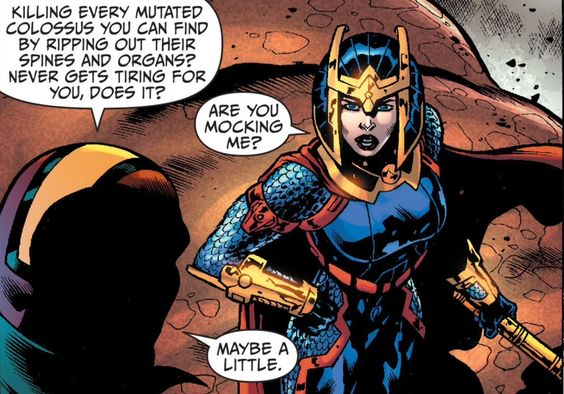 Earth 2 Annual #1. Big Barda and Mr. Miracle